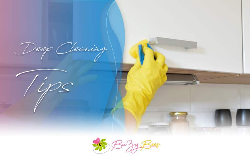deep cleaning tips