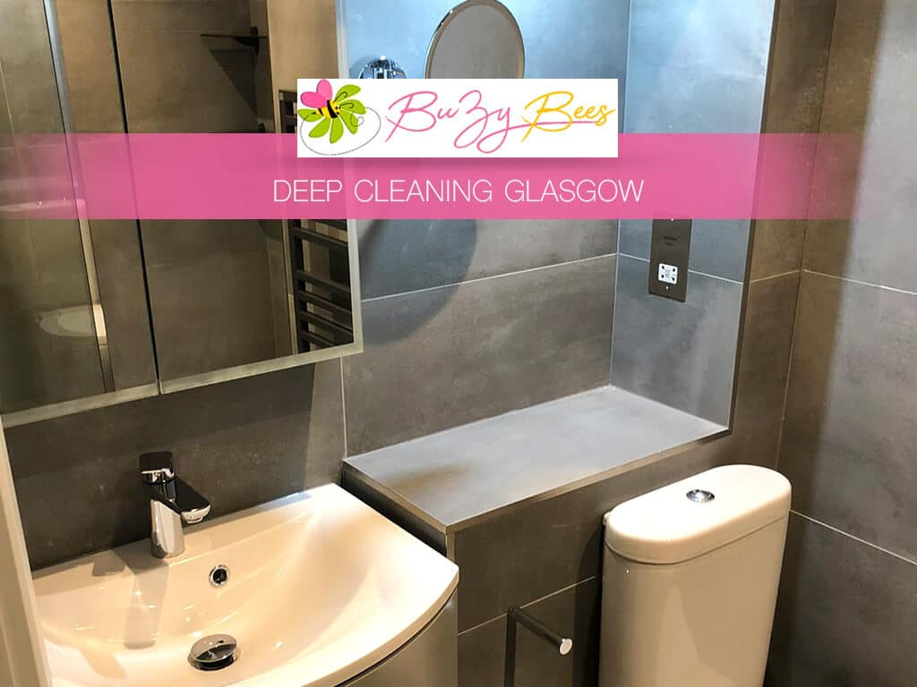 image of bathroom deep cleaning services