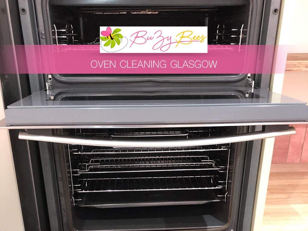 image of oven cleaning in glasgow
